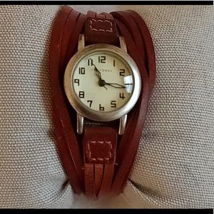 Tan Leather TOKYObay Watch